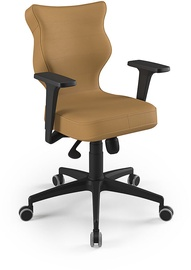 Entelo Perto Black Office Chair VE26 Beige