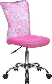 Home4you Work Chair Blossom Pink Flowers 27896