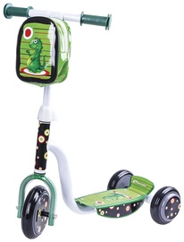 Spokey Dinno 3-Loader Scooter White / Green