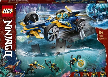 Конструктор LEGO Ninjago Ninja Sub Speeder 71752, 356 шт.