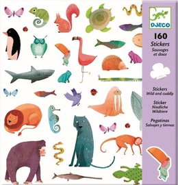 Djeco Wild & Cuddly Stickers DJ08883