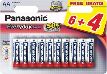 Panasonic LR6EPS Everyday Power 6+4 x AA