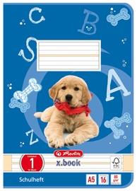 Herlitz Exercise Book A5 16 Sheets Blue /Dog