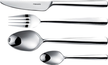 Fiskars Functional Form Cutlery Set 24pcs Mirror