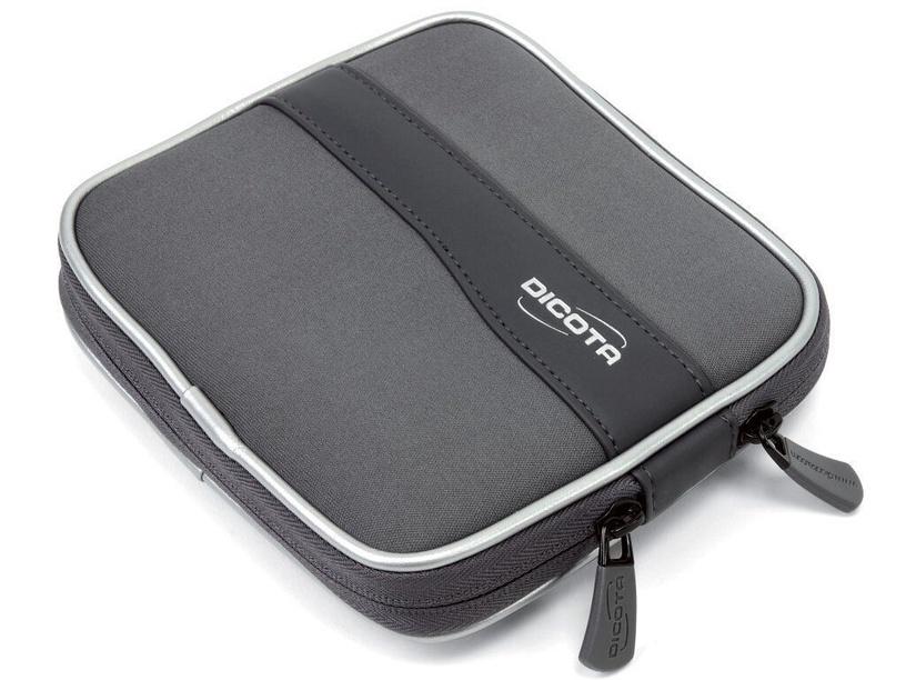 Dicota MemoryPocket Hard Drive Case Gray