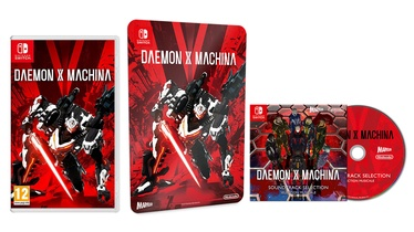 Daemon X Machina incl. Metal Plate and Soundtrack CD SWITCH