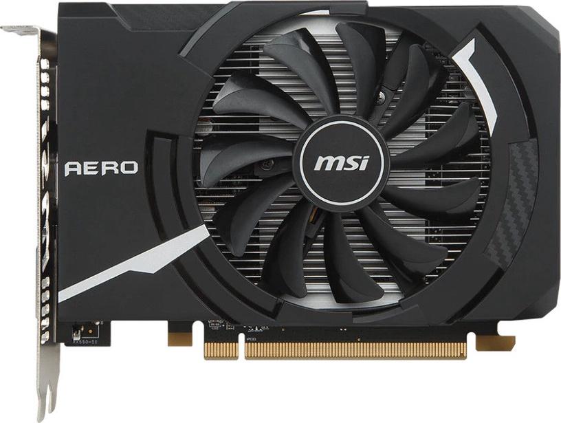 MSI Radeon RX 550 Aero ITX OC 2GB GDDR5 PCIE RX550AEROITX2GOC