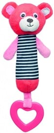Canpol Babies Soft Toy With Squeaker Bear Coral 68/055
