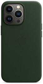 Чехол Apple iPhone 13 Pro Leather Case with MagSafe, зеленый