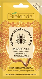 Bielenda Manuka Honey Nourishing & Moisturizing Face Mask 8g