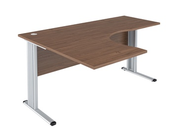 Skyland Imago-M SA-4M L Ergonomic Office Desk 160x120cm French Walnut