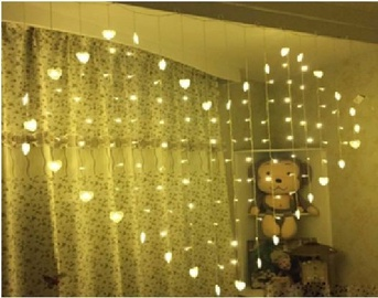 Visional LED Hearts GZS-3X1.5-WW 3x1.5m Warm White