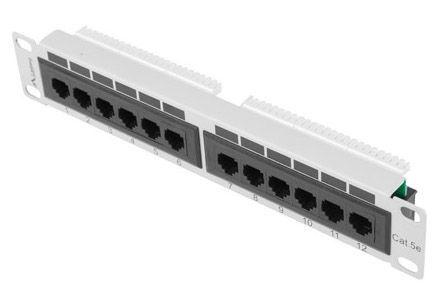 Lanberg PPU5-9012-S 12 Port Panel