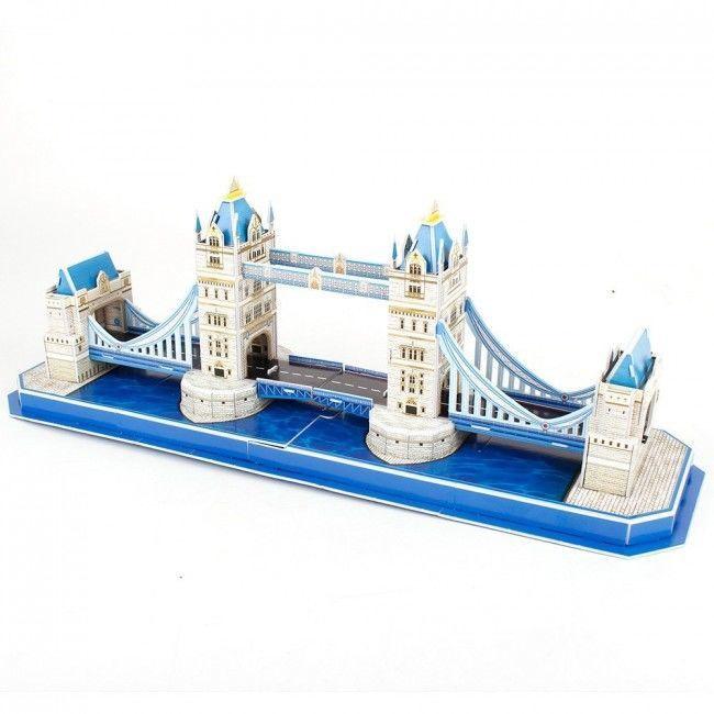 3D mīkla Cubicfun Tower Bridge 3D, 52 gab.
