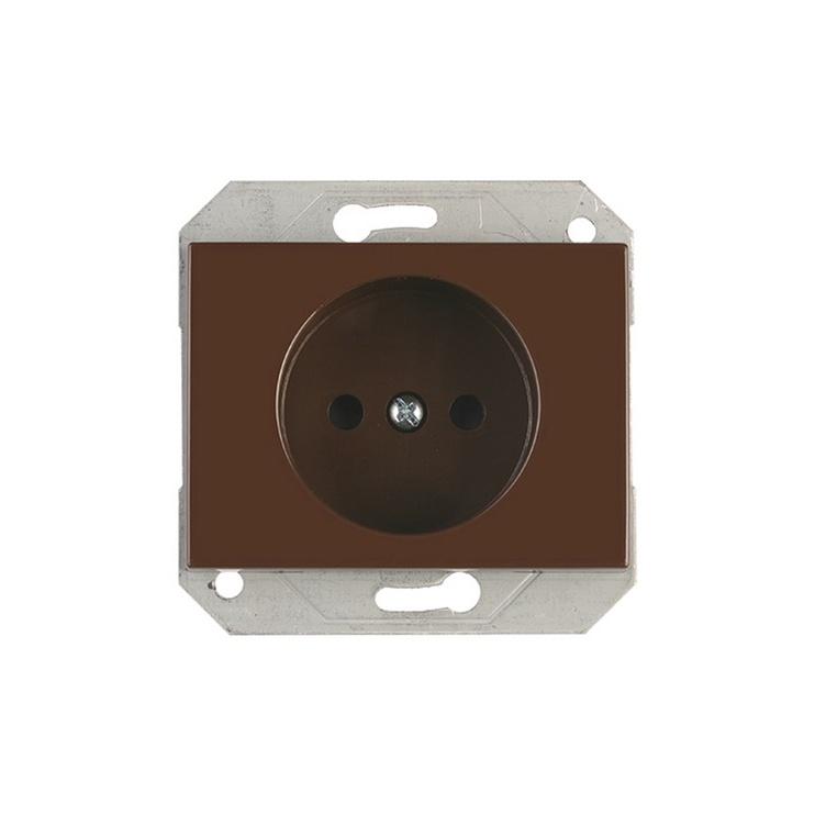Kištukinis lizdas Vilma XP500, rudos spalvos