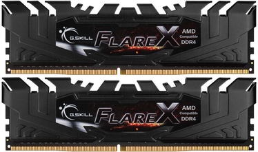 G.SKILL Flare X for AMD Black 32GB 2400MHz CL15 DDR4 KIT OF 2 F4-2400C15D-32GFX