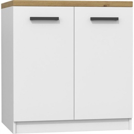 Top E Shop Kitchen Cabinet D-80/82 White Matt/Artisan
