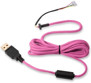 Glorious PC Gaming Race Ascended Cable V2 Majin Pink