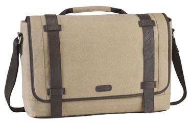 "Targus Canvas Laptop Messenger Bag 15.6"" Beige"