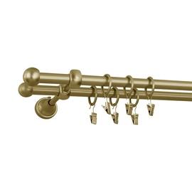 Dvigubo karnizo komplektas Okko, 200 cm, Ø 16 mm