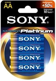 Elements Sony Alkaline Battery AA x 4