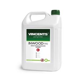 Antipirēns Vincents Polyline Inwood Fire, 5l, sarkans
