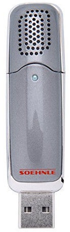Soehnle Portable USB Air Freshener Como Grey