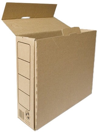 SMLT Archive Box A4 245x120x330mm Brown