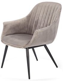 Halmar Chair Elegance I Grey/Black