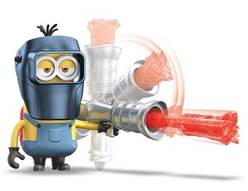 Mattel Minions The Rise Of Gru Flame Thrower Kevin GMD90