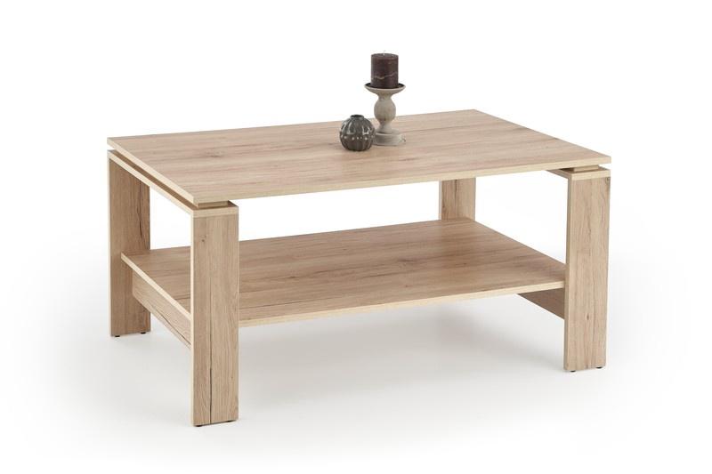 Kafijas galdiņš Halmar Andrea San Remo Oak, 1100x600x520 mm