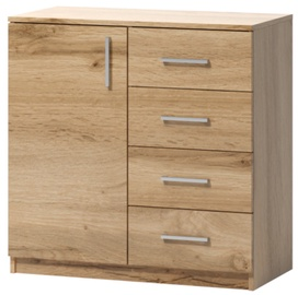 WIPMEB Tatris 02 Chest Of Drawers Wotan Oak