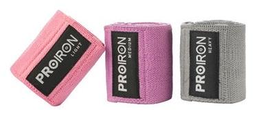 Komplekts ProIron Fabric Booty Exercise Bands 3pcs Set 38x8cm