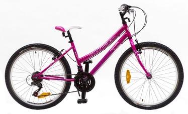 """Vaikiškas dviratis Kenzel Yum 24"""" Pink 17"""