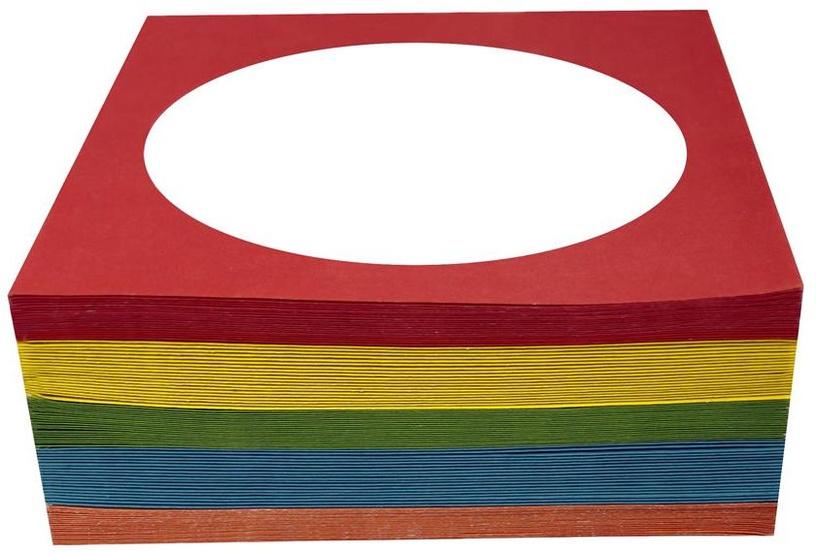 Esperanza 5053 Envelope for CD/DVD 100 pcs Colour Mix