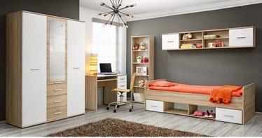 Комплект мебели для детской комнаты ASM Dino III, белый/дубовый