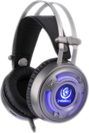 Ausinės Rebeltec Hurricane 7.1 Gaming Headphones w/Vibration