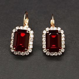 Diamond Sky Earrings With Crystals From Swarowski Lurdes II Siam