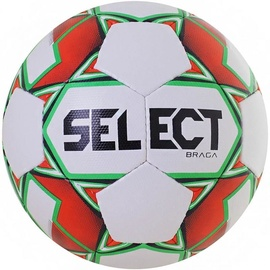 Select Braga Football 0906 Orange/Green Size 5