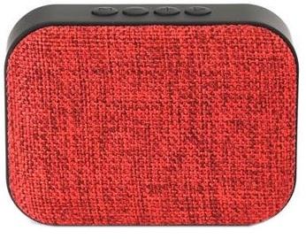 Belaidė kolonėlė Omega Bluetooth Wireless Speaker With FM Radio Red
