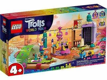Konstruktors LEGO®Trolls 41253 Piedzīvojums ar plostu vientuļajā līdzenumā