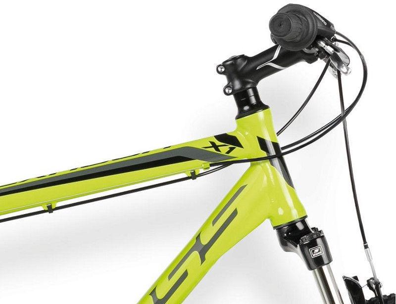 3d3e8f28b26 Jalgratas Kross Hexagon X1 26 23 Yellow/Black 16 - Krauta.ee