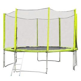 inSPORTline Froggy Pro Trampoline Set 430cm Green