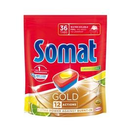 Indaplovių tabletės Somat Gold Lemon, 36 vnt.