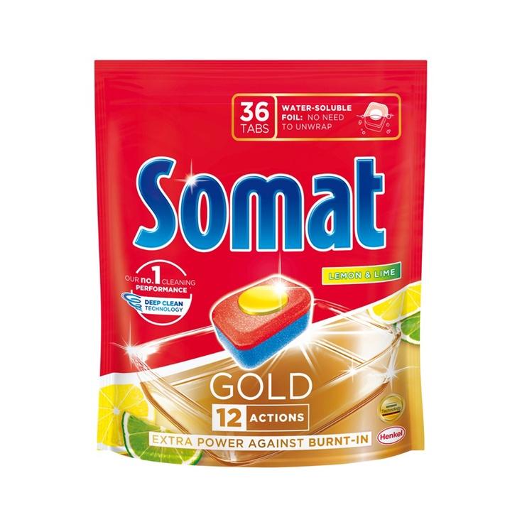 Henkel Somat Gold Lemon 36 Tabs