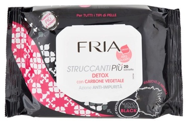 Fria Detox Make Up Remover Wet Wipes 20pcs