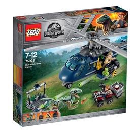 Konstruktor LEGO Jurassic World, Sinise tagaajamine helikopteriga 75928