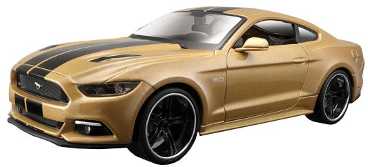 Maisto 2015 Ford Mustang GT Gold Modern Muscle 31369