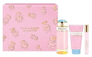 Набор для женщин Prada Candy Sugar Pop 80 ml EDP + 75 ml Body Lotion + 10 ml EDP Rollerball