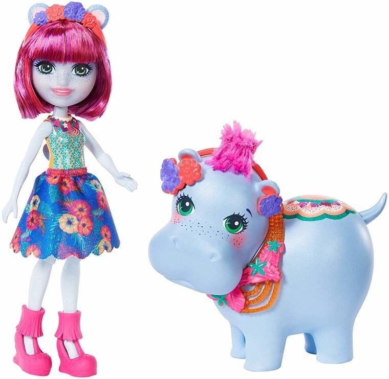 Кукла Mattel Enchantimals Hedda Hippo GFN56